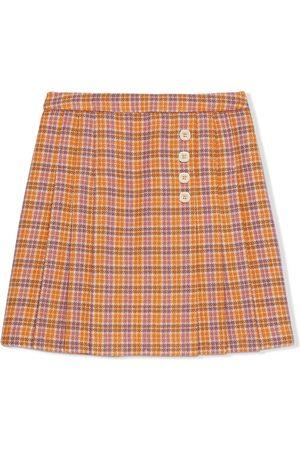 Gucci Check-pattern skirt