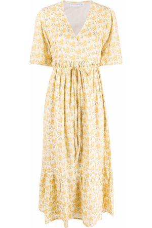 FAITHFULL THE BRAND Dahlee floral-print midi dress
