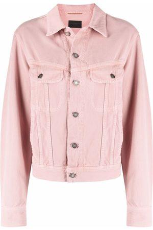 Saint Laurent Senhora Casacos - Ozone denim jacket