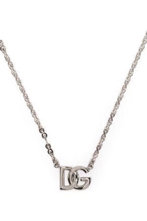 Dolce & Gabbana Logo-plaque chain necklace