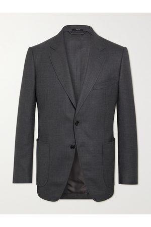 TOM FORD Homem Blazers - O'Connor Slim-Fit Unstructured Wool-Mesh Blazer