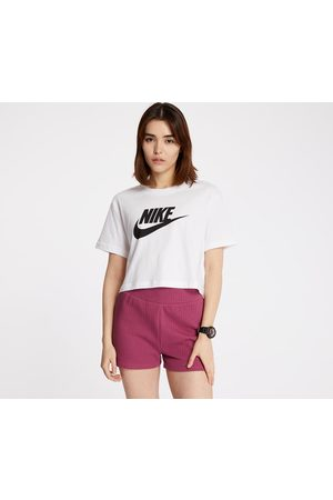 Nike Sportswear Essential Cropped Icon Future Tee / Black