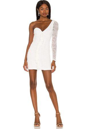 MAJORELLE Karissa Mini Dress in - . Size L (also in XXS, XS, S, M, XL).