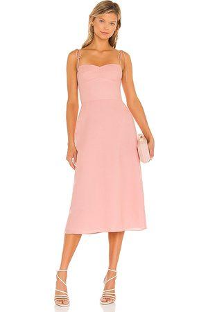 Amanda Uprichard X REVOLVE Cava Midi Dress in - . Size L (also in XS, S, M).