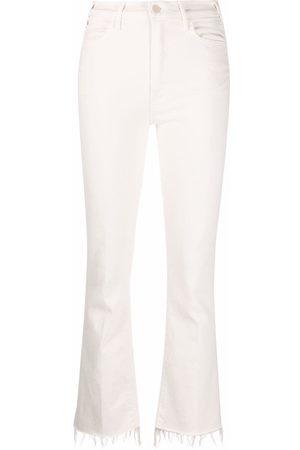 MOTHER Senhora Bootcut & Boca-de-sino - Bootcut ankle-fray jeans