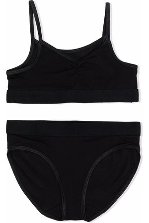 Molo Menina Camisolas Interiores - Jinny stretch-organic cotton underwear set