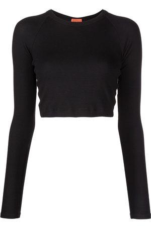Alix NYC Senhora T-shirts - Coles jersey cropped top