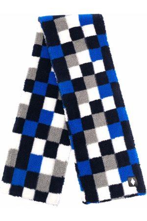 MARCELO BURLON Homem Cachecóis & Echarpes - Checkerboard-print scarf