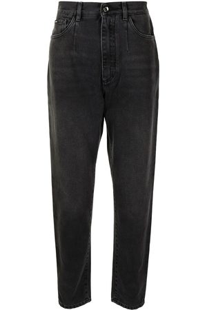 Dolce & Gabbana Homem Tapered - High-waisted tapered jeans