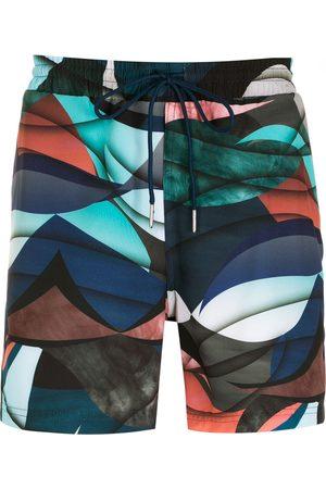 Lygia & Nanny Homem Bermudas - Gil print shorts