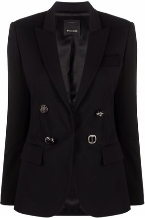 Pinko Embossed-buttons single-breasted blazer