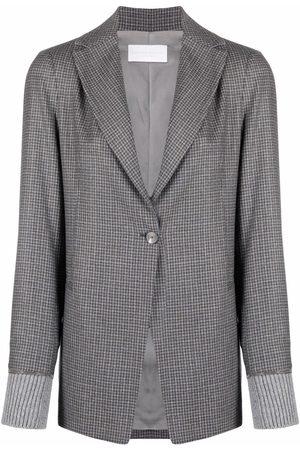 Fabiana Filippi Plaid-check print blazer