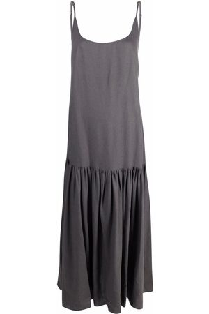 Parlor Open-back maxi dress