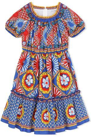 Dolce & Gabbana Menina Vestidos Casual - Carretto print midi sundress