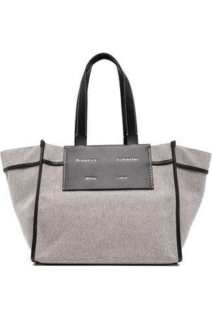 PROENZA SCHOULER WHITE LABEL Senhora Shoppers - Large Morris tote bag