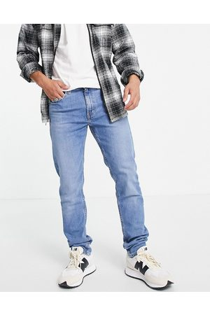 Levis Levi's 512 slim tapered fit lo-ball jeans in light wash blue