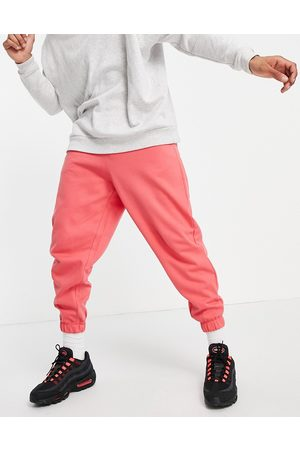 ASOS Homem Joggers - Organic co-ord oversized joggers in pink