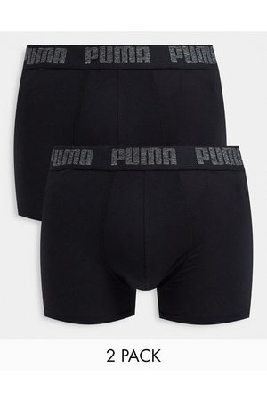 PUMA Homem Boxers - 2 pack logo waistband boxers in navy/blue