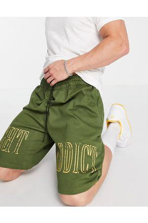 Night Addict Homem Calções - Printed shorts in bottle green