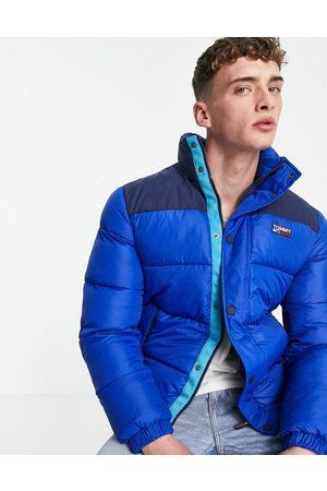 Tommy Hilfiger Padded nylon jacket in blue