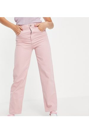 Reclaimed Vintage Inspired 90's dad jean in pink wash