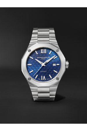 Baume & Mercier Homem Relógios - Riviera Automatic 42mm Stainless Steel Watch, Ref. No. M0A10620