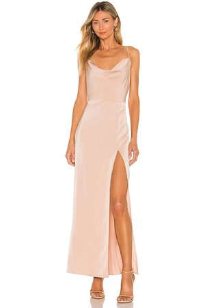 NBD Lila Gown in - Nude. Size L (also in XXS, XS, S, M, XL).