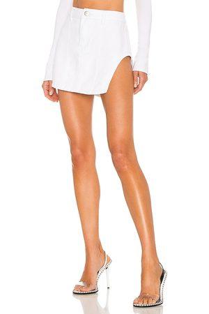 superdown Abby Slit Mini Skirt in - . Size L (also in S, M).
