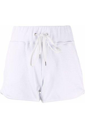 ELEVENTY Drawstring fitted shorts