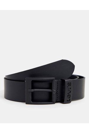 Levis Ashland leather belt in black