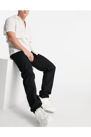 ASOS DESIGN No fade black dad jeans