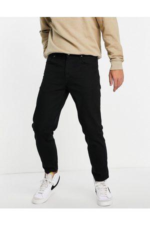 ASOS DESIGN No fade black classic rigid jeans