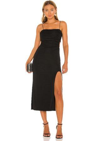 Cinq A Sept Senhora Vestidos Midi - Mariah Midi Dress in - . Size 0 (also in 00, 4, 6, 8).