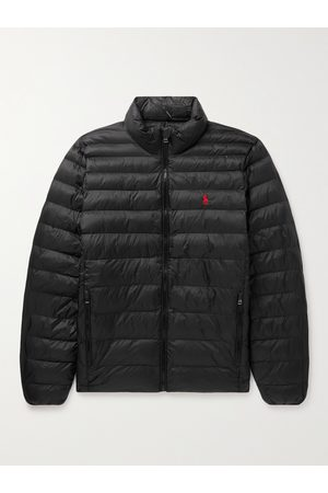 Polo Ralph Lauren Logo-Embroidered Quilted Padded Recycled Nylon Jacket