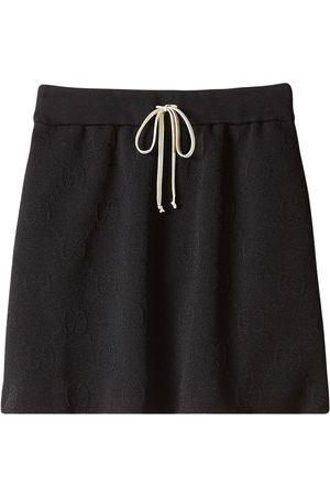 Gucci Senhora Saias - GG jacquard jersey skirt