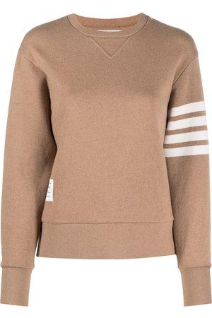 Thom Browne Long-sleeve 4-Bar stripe sweatshirt