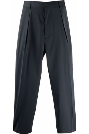 Paul Smith Side-striped pleated trousers