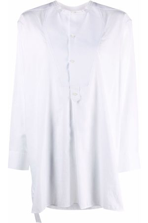 Rodebjer Collarless long-sleeved tunic