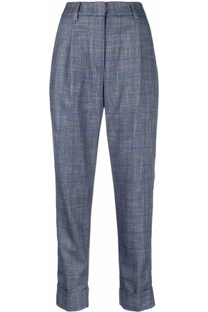 PESERICO SIGN Tailored high-waist trousers