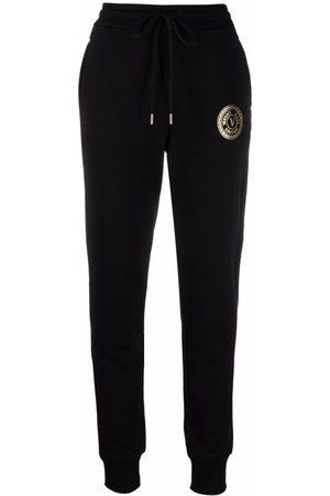 VERSACE V-Emblem slim cotton joggers