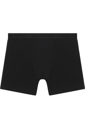 Balenciaga Logo-trim stretch boxer shorts