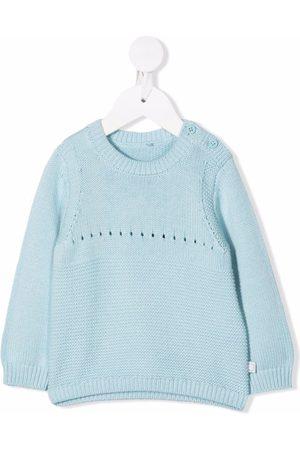 Stella McCartney Dog-knit cotton jumper