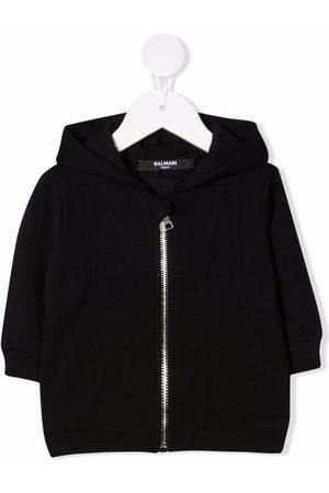 Balmain Zip-up cotton hoodie