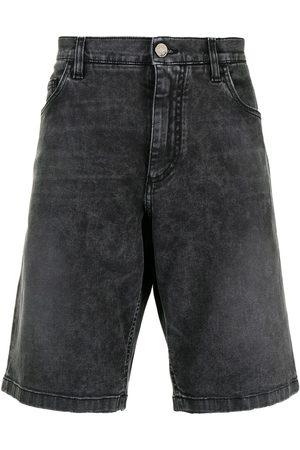 Dolce & Gabbana Stonewash knee-length denim shorts