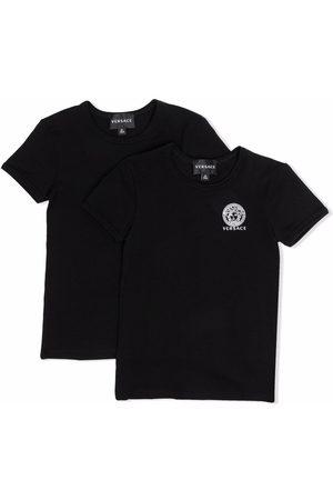 VERSACE Medusa-logo T-shirt double-pack