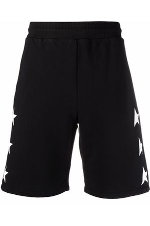 Golden Goose Homem Bermudas - Star-print shorts