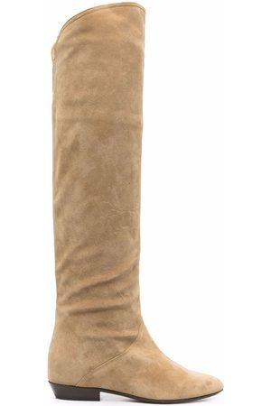 Isabel Marant Suede knee-length boots
