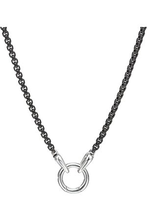 David Yurman Homem Colares - 13.5mm charm necklace