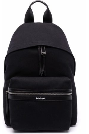 Palm Angels CLASSIC LOGO BACKPACK SILVER
