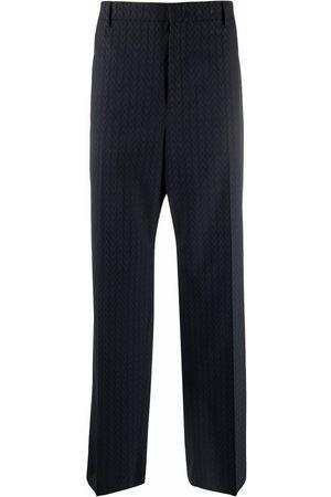 VALENTINO Logo-jacquard tailored trousers